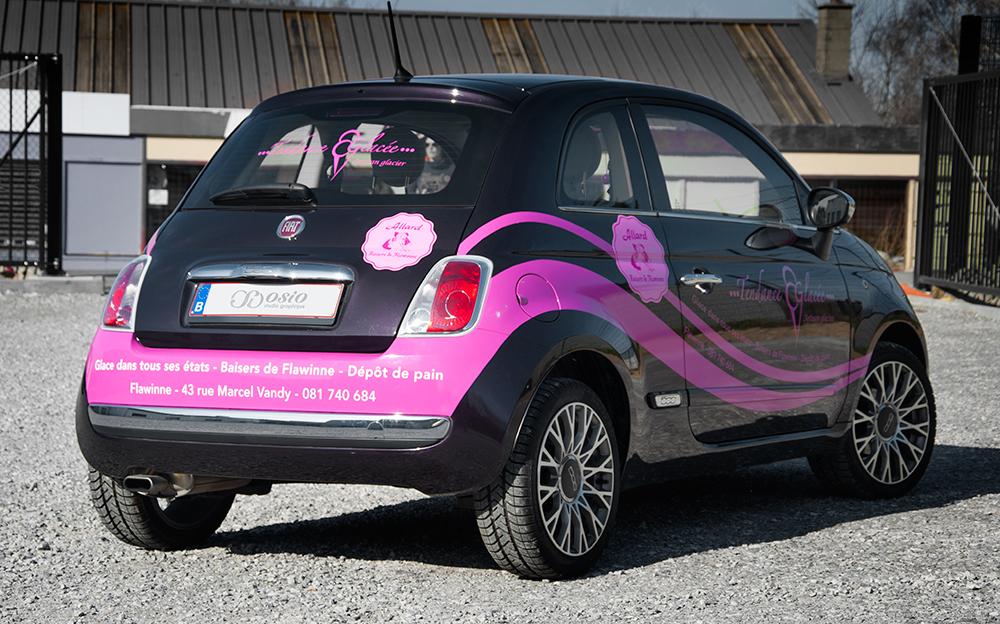 Lettrage Fiat 500