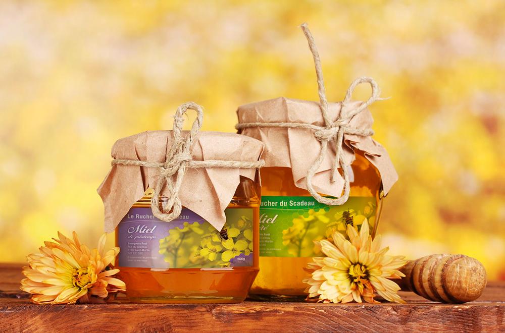 Création étiquette miel